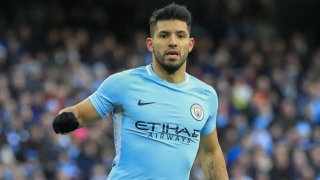 Man City striker Aguero chooses against taking pitch invader to court