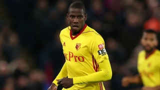 Watford midfielder Doucoure: Capoue partnership took time