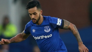 Walcott confident Everton 'on the up'