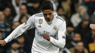 Man Utd offered fresh encouragement for Real Madrid defender Varane