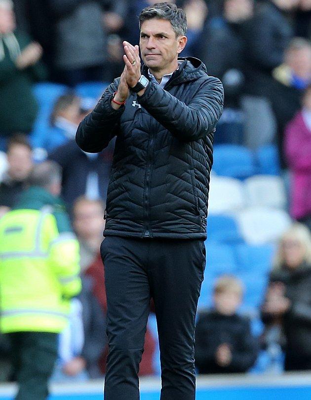 Southampton boss Pellegrino: I saw some players give up
