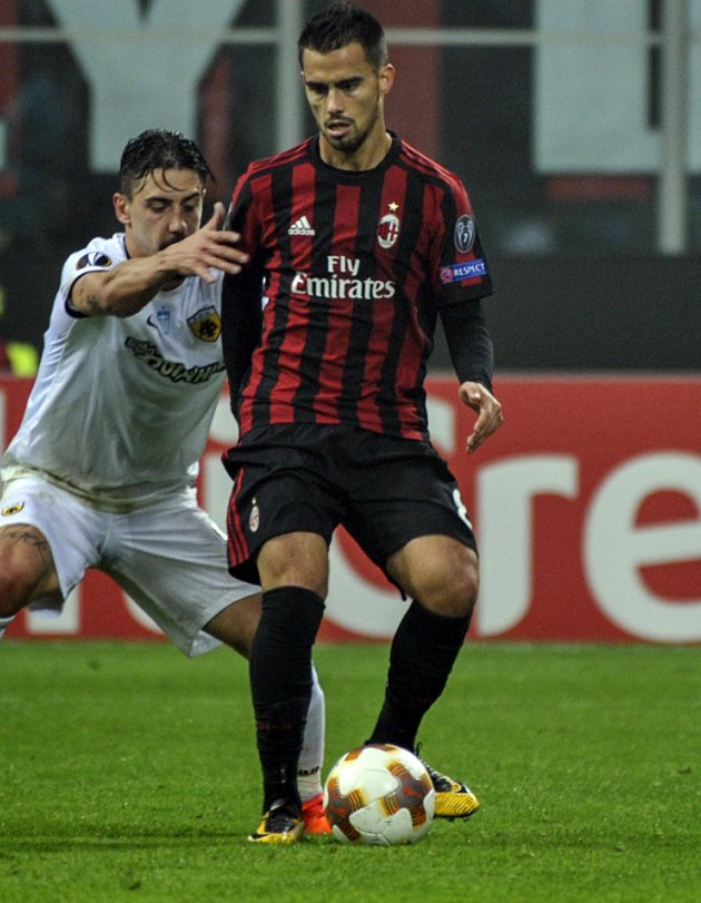 Liverpool, Spurs target Suso happy 'growing' with AC Milan