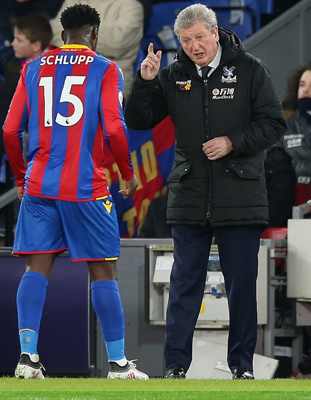 Crystal Palace boss Hodgson can't fault players for Watford defeat