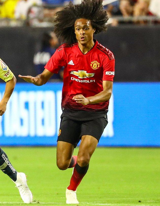 Man Utd thump Valencia in UEFA Youth League