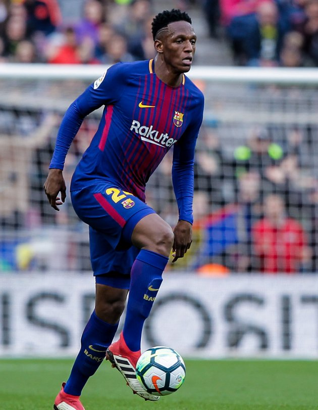 Barcelona defender Yerry Mina admits he wants Palmeiras return