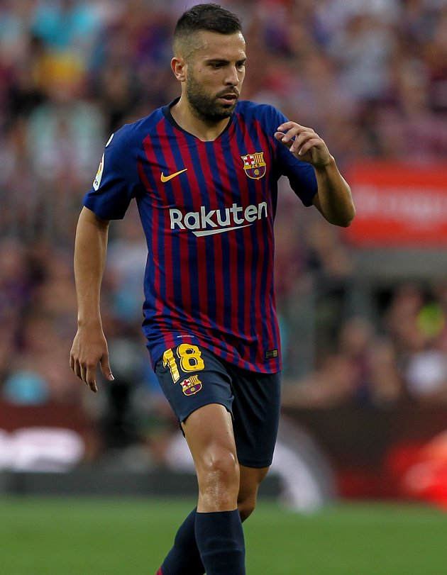 Barcelona GM Segura insists no rush to discuss terms with Man Utd target Alba