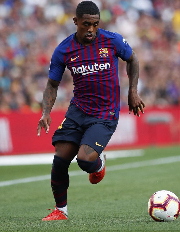 Malcom returns to Barcelona training