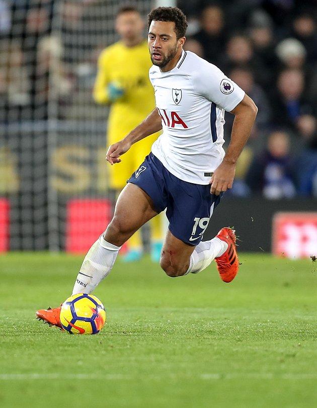 Inter Milan chiefs in London to bid for Tottenham midfielder Dembele