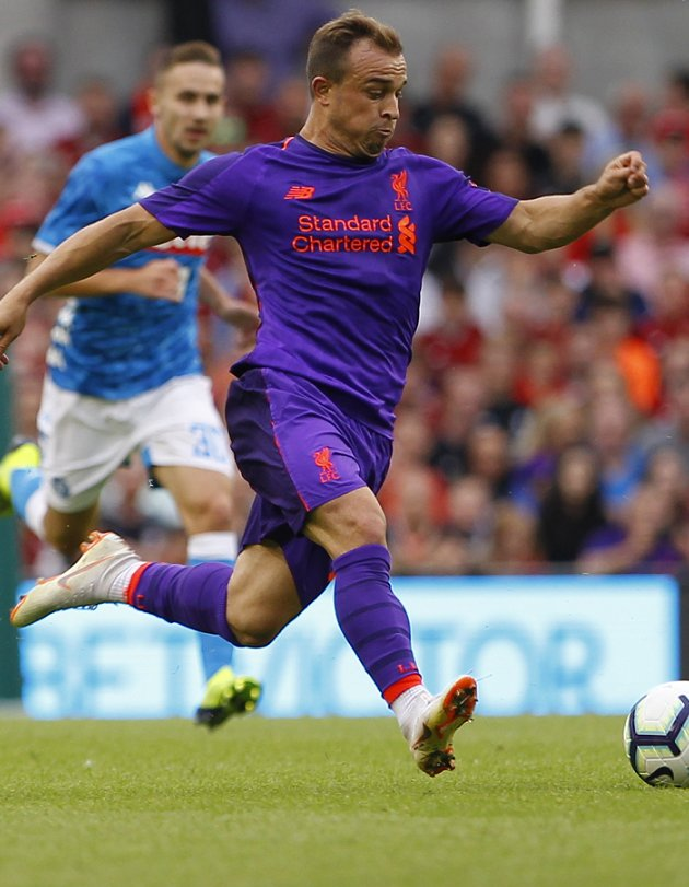 Liverpool ace Shaqiri admits running battle with Iceland's Sigurjonsson: I must defend myself