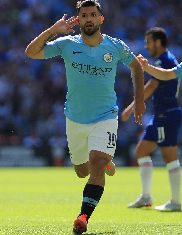 Man City boss Guardiola: Thank-you Aguero