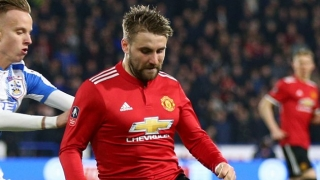 Luke Shaw responds to Man Utd fans support online