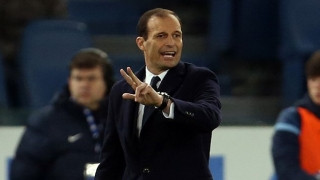 Juventus coach Max Allegri pleased with personal recognition