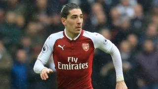 Arsenal fullback Bellerin: Welbeck works so hard. He deserves...