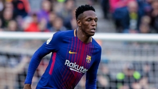 Barcelona willing to listen to offers for Yerry Mina