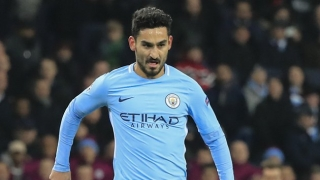 Man City midfielder Ilkay Gundogan cools Barcelona rumours