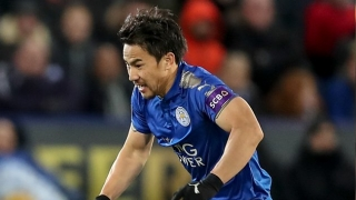 ​Leicester forward Okazaki eyes Spain or Italy move