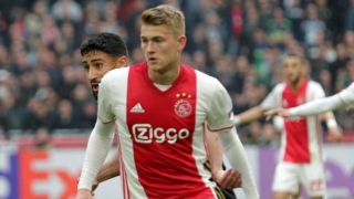 Ajax defender De Ligt transfer priority is Barcelona
