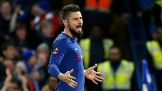 Giroud: Chelsea players angry with me when I first arrived
