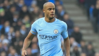 Man City great Kompany: Leicester winner emotional