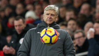 SNAPPED! Ex-Arsenal boss Wenger back in football - as player!