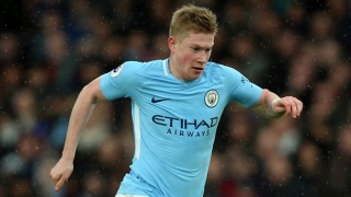 De Bruyne upbeat upon Man City training return