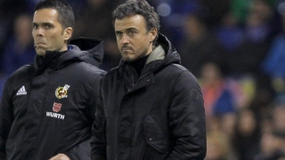 Spain coach Luis Enrique delighted with their progress