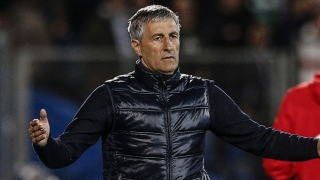 Barcelona coach Setien ready to face former club Real Betis