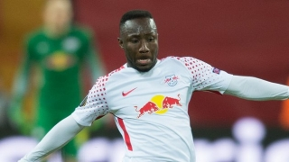 SNAPPED! Naby Keita arrives on Merseyside to kickoff Liverpool career