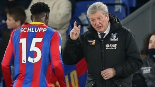Crystal Palace boss Hodgson blames referee for 'unlucky' loss to Liverpool