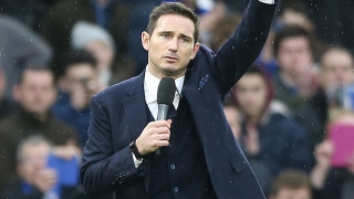 Derby boss Lampard delighted with deal for Chelsea hero Cole