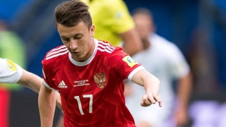 Arsenal monitoring Golovin performance in Russia
