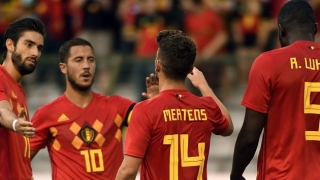 Belgium coach Martinez dismisses Lukaku doubts after Hazard confrontation