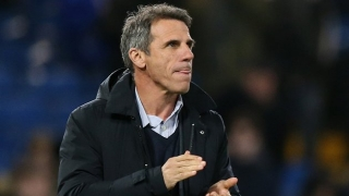 Zola fuels Chelsea return rumours: We're talking