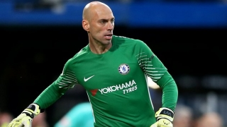 Chelsea goalkeeper Willy Caballero interesting West Ham