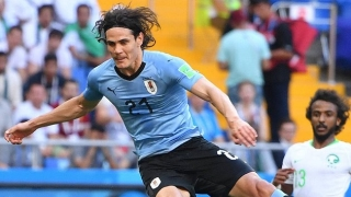 Napoli president De Laurentiis: Cavani set the standard for our future strikers