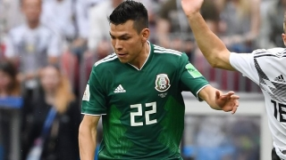 Arsenal watching  PSV winger Hirving Lozano