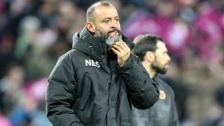 Wolves boss Nuno happy with fight-back for Fulham draw