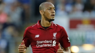 Fabinho prepared to fight for Liverpool first team place