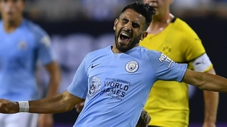 Mahrez happy with first months at Man City