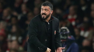 AC Milan coach Gattuso defends not starting Chelsea target Higuain in Supercoppa defeat