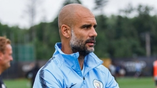 Man City boss Guardiola has pop at Inter Milan for 'falling asleep'