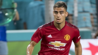 Man Utd midfielder Andreas Pereira in talks with Belgium