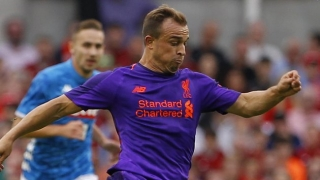 Shaqiri joins Liverpool icon Carragher to hold Neville to account with special message