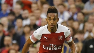 Arsenal striker Aubameyang won't set himself goals target