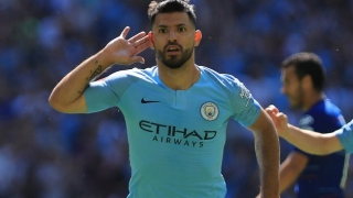 Man City ace Aguero proud after hat-trick helps thump Huddersfield