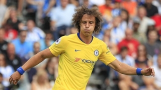 Chelsea defender David Luiz: Man Utd came here just to defend
