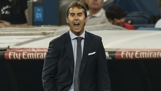 Real Madrid coach Lopetegui happy to mark his Primera debut with victory