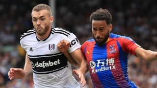 Crystal Palace winger Townsend offers support to Newcastle defender Lejeune