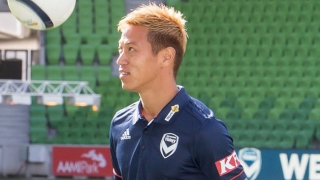 LIVE FROM MELBOURNE: Japan icon Honda reveals Melbourne Victory changed retirement plans