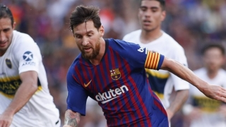 Barcelona defender Pique hails Messi after hat-trick performance